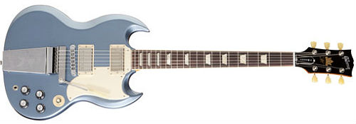 gibson sg jeff tweedy blue mist
