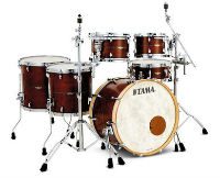 tama star maple satin amber gold
