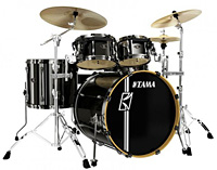 tama superstar hyperdrive hairline metallic black II