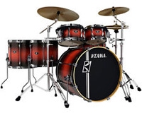 tama superstar hyperdrive satin cherry burst II